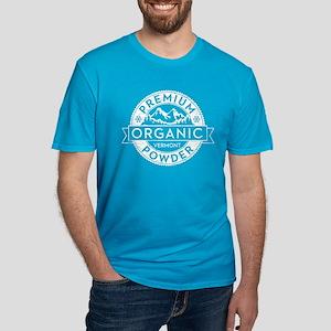 Vermont Powder Men's Fitted T-Shirt (Dark)