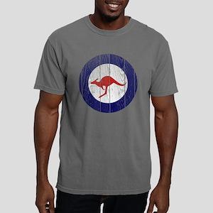 Australia Roundel Wood.p Mens Comfort Colors Shirt