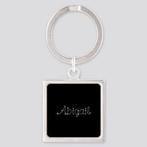 Abigail Spark Square Keychain