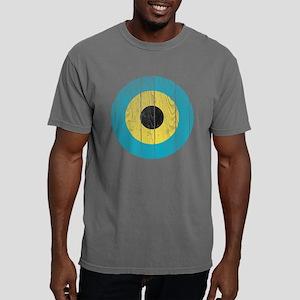 Bahamas Roundel Wood Mens Comfort Colors Shirt