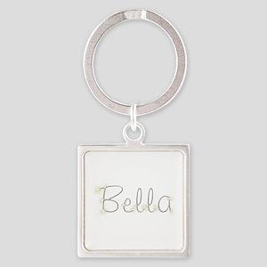 Bella Spark Square Keychain