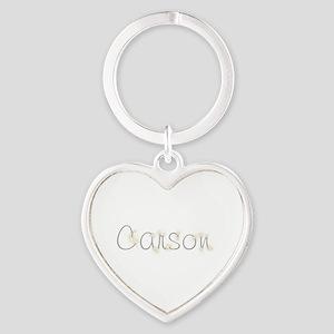 Carson Spark Heart Keychain