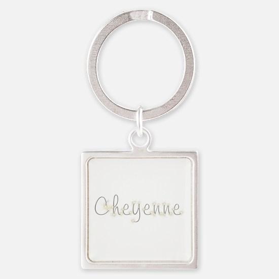 Cheyenne Spark Square Keychain