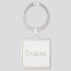 Dakota Spark Square Keychain