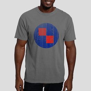 Croatia Roundel Wood Mens Comfort Colors Shirt