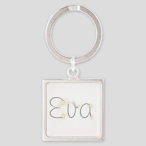 Eva Spark Square Keychain