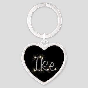 Ike Spark Heart Keychain