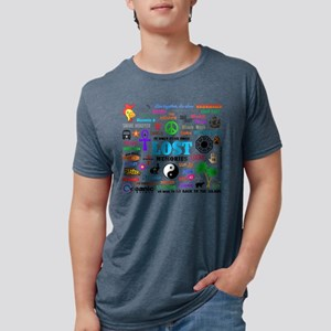 Lost Mens Tri-blend T-Shirt