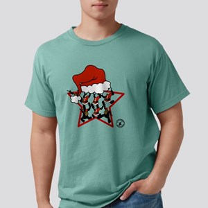 Christmas-print-6-WHT.pn Mens Comfort Colors Shirt