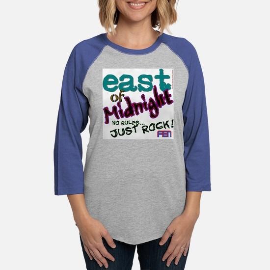 East of Midnight shirt.png Womens Baseball Tee