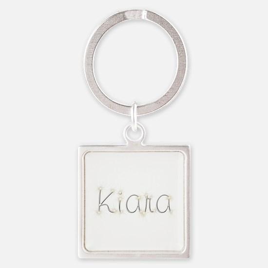 Kiara Spark Square Keychain