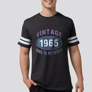1965 Aged To Perfection Mens Football Shirt