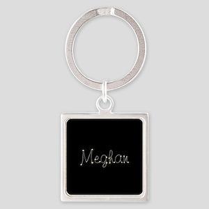 Meghan Spark Square Keychain