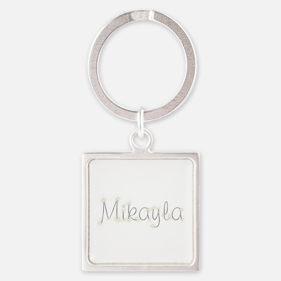 Mikayla Spark Square Keychain