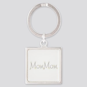 MomMom Spark Square Keychain