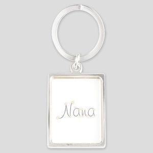 Nana Spark Portrait Keychain