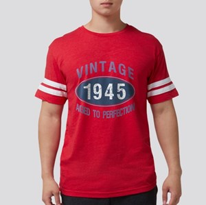 1945 Aged To Perfection Mens Football Shirt