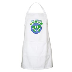 Peas On Earth BBQ Apron