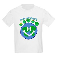 Peas On Earth Kids T-Shirt