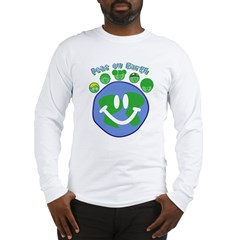Peas On Earth Long Sleeve T-Shirt