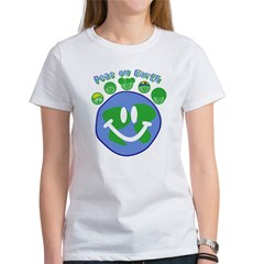 Peas On Earth Women's T-Shirt