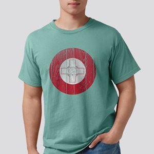Malta Roundel Wood Mens Comfort Colors Shirt