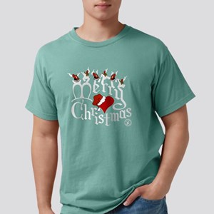 Christmas-print-12-BLK.p Mens Comfort Colors Shirt