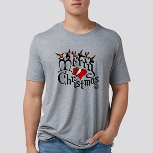 Christmas-print-12-WHT Mens Tri-blend T-Shirt