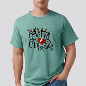 Christmas-print-12-WHT.p Mens Comfort Colors Shirt