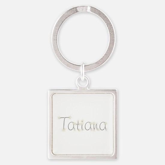 Tatiana Spark Square Keychain
