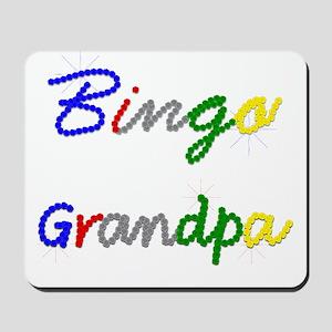 Bingo Grandpa Mousepad