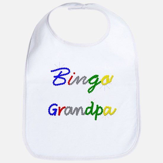 Bingo Grandpa Bib