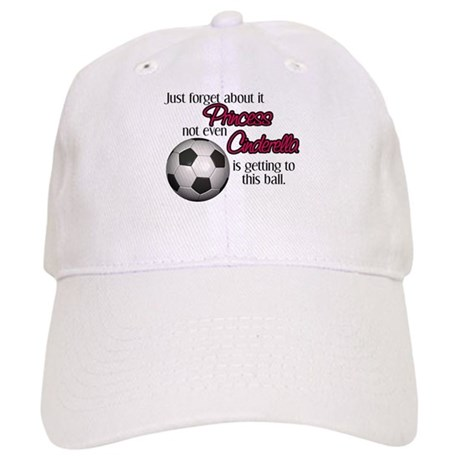 6606e91233a Princess can t get to the ball Baseball Cap by insanitycafe