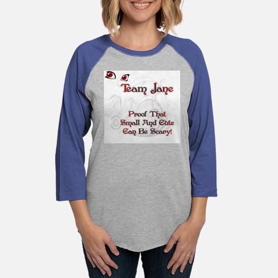 Team Jane.png Womens Baseball Tee