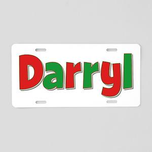 Darryl Christmas Aluminum License Plate