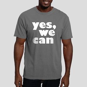 yes_we_can_dark Mens Comfort Colors Shirt