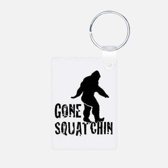 Gone Squatchin print Keychains