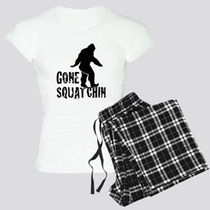 Gone Squatchin print Women's Light Pajamas
