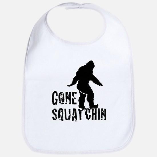 Gone Squatchin print Bib