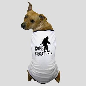 Gone Squatchin print Dog T-Shirt