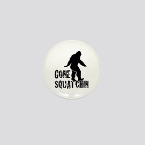 Gone Squatchin print Mini Button