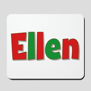 Ellen Christmas Mousepad
