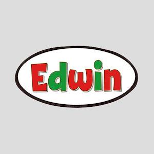 Edwin Christmas Patch