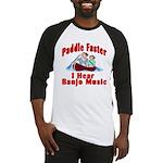 Paddle Faster I Hear Banjo Mu Baseball Jersey