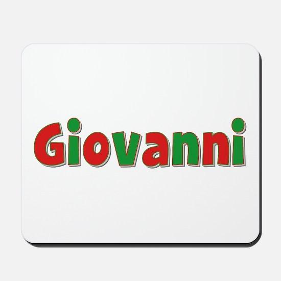 Giovanni Christmas Mousepad