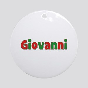 Giovanni Christmas Round Ornament