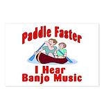 Paddle Faster I Hear Banjo Mu Postcards (Package o