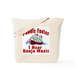 Paddle Faster I Hear Banjo Mu Tote Bag