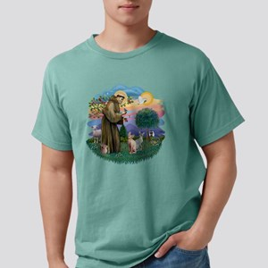 St. Francis (ff) - Sphyn Mens Comfort Colors Shirt