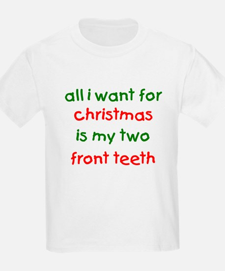 Two Front Teeth for Xmas Kids T-Shirt